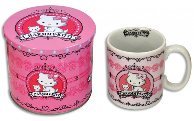 Caneca de Porcelana e Lata Charmmy Kitty