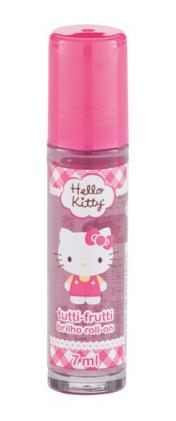 Brilho Roll On Tutti Frutti Hello Kitty