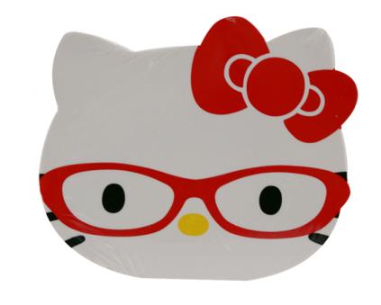 Bloco de notas Hello Kitty Vermelho: Glasses