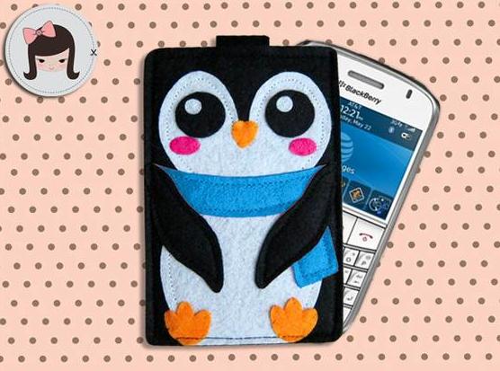 Case Pinguim de Cachecol