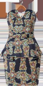 vestido l7308