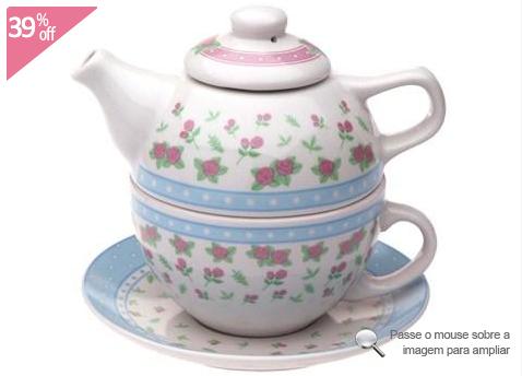 Conjunto para Chá Rose