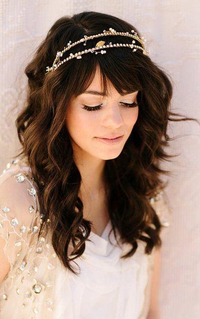 cabelo boho noiva