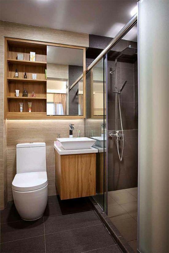 decoracao para banheiro minusculo:Inspiração – banheiro pequeno